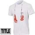 Мужская футболка с боксерскими перчатками TITLE HANG EM UP