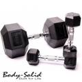 Гантельный ряд BODY SOLID 2,5-30 кг FDS-05