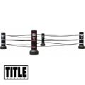 Переносной портативный ринг TITLE Boxing Portable Ring Ropes