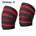 Бинты-наколенники HARBINGER 46300 Red Line Knee Wraps