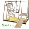 Спортивный детский уголок SportBaby Малютка Три