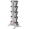 Вертикальная подставка под гантели HOIST HF-4459 на 5 пар