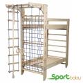 Детский спорткомплекс с кроватью SportBaby Bed Два