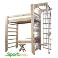 Детский спорткомплекс с кроватью SportBaby Bed Один