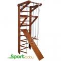 Спортивный детский уголок SportBaby Орех 3-220