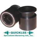 Замки быстросъемные компрессионные Ø25 мм QUICKLEE 1SC-B (пара)