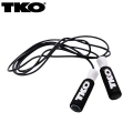 Скакалка скоростная TKO Pro Line Leather Rope 505LR