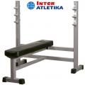 Скамья для жима со стойками INTER ATLETIKA GYM ST/BT304