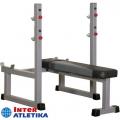 Скамья для жима со стойками INTER ATLETIKA GYM ST/BT323