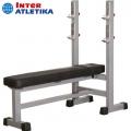 Скамья для жима со стойками узкая INTER ATLETIKA GYM ST/BT308