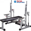 Скамья для пауэрлифтинга INTER ATLETIKA GYM ST/BT327