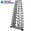 Стойка с набором гантелей INTER ATLETIKA GYM ST/BT410