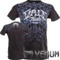 Футболка VENUM Dark Line Vale Tudo T-shirt