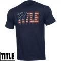 Мужская футболка TITLE Boxing American Pride Tee