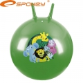 Мяч попрыгунчик Фитбол с рожками 60 см SPOKEY Leo