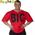 Мужской тренировочный топ-футболка BIG SAM 3011-3037-3038