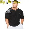 Мужской тренировочный топ-футболка BIG SAM 3090