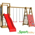 Детский спортивно-игровой комплекс SportBaby SportBaby-6