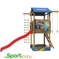 Детский спортивно-игровой домик SportBaby SportBaby-7