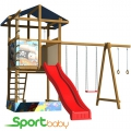 Детский спортивно-игровой комплекс SportBaby SportBaby-8