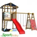 Детский спортивно-игровой комплекс SportBaby SportBaby-9