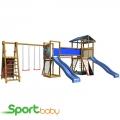 Детская спортивно-игровая площадка SportBaby SportBaby-12