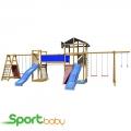 Детская спортивно-игровая площадка SportBaby SportBaby-13