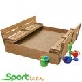 Детская песочница с крышкой SportBaby Песочница-3