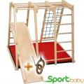 Спортивный детский уголок SportBaby Ромашка Мини 120см