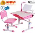 Парта и стульчик с набором аксессуаров MEALUX BD-02P-AX