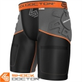 Компрессионные шорты с протекторами SHOCK DOCTOR Ultra ShockSkin