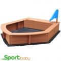 Детская песочница-лодочка SportBaby Песочница-14
