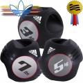 Медицинский мяч с 2 захватами ADIDAS Dual Grip ADBL-1041