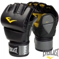 Перчатки EVERLAST MMA Pro Leather Grappling Gloves