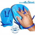 Лопатки для плавания SPRINT AQUATICS TRAX PADDLES пара