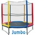 Батут с сеткой JUMBO Ø244 см