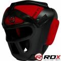 Боксерский закрытый шлем с защитной сеткой RDX Guard