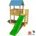 Деревянный детский игровой домик KIDIGO Добрый