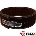 """Пояс кожаный для пауэрлифтинга RDX Leather Lifting Belt 4"""""""
