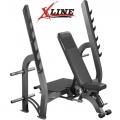 Скамья для жима со стойками INTER ATLETIKA X-LINE X/XR314