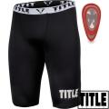 Компрессионный бандаж и ракушка TITLE Boxing Pro Compress