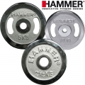 Диски хромированные HAMMER Sport Ø30мм пара