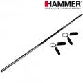 Гриф прямой для штанги HAMMER Sport 180 см 4607