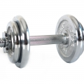 Гантель наборная хром 10 кг HAMMER Sport 6750
