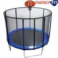 Батут с сеткой безопасности EnergyFIT GB10103-10FT Ø305 с щитом