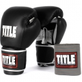Боксерские перчатки TITLE Platinum Paramount Training/Sparrin