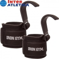 Крюки для тяги на запястья INTER ATLETIKA Iron Gym IGIG