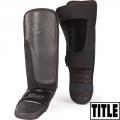 Защита голени и стопы TITLE BLACK Grappling Shin Instep Guards