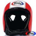 Открытый боксерский шлем FAIRTEX HG-9