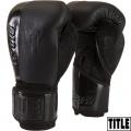 Боксерские перчатки TITLE BLACK Blast Training Gloves